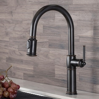 Link to Kraus KPF-1682 Sellette Traditional 1-Handle Pulldown Kitchen Faucet Similar Items in Faucets