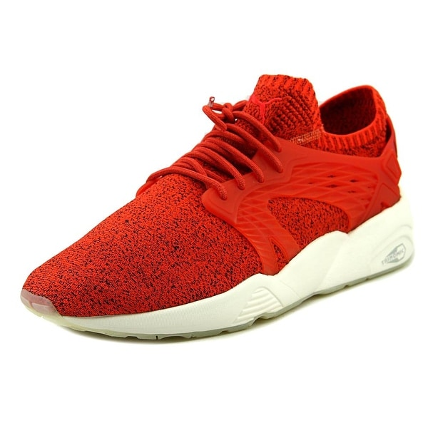 Puma Blaze Cage EvoKnit Men Synthetic Red Fashion Sneakers