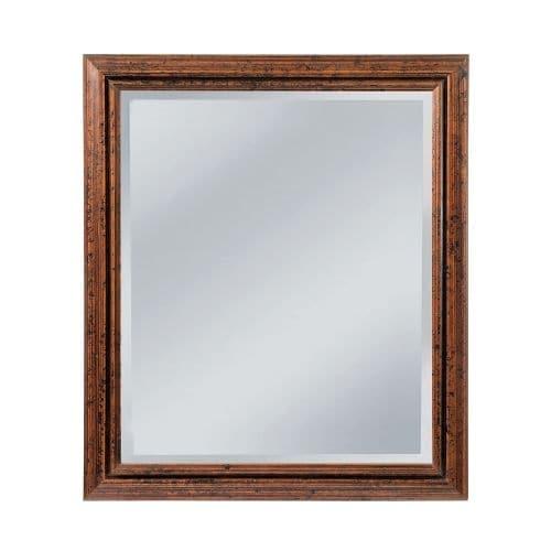 "Mirror Masters MW4500A Ogden 25"" Rectangular Mirror with Decorative Frame"