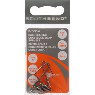 South Bend B Biss 4 B B Snap Swivel 2ea Sz 4