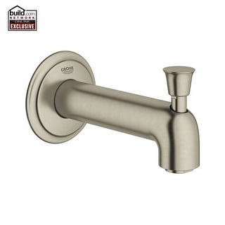 "Grohe 13 344 Fairborn 5-9/16"" Diverter Tub Spout with SilkMove"