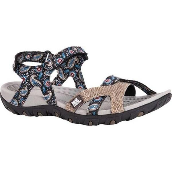 8d92185caa06 Shop MUK LUKS Women s Ophelia Sport Sandal Navy - Free Shipping ...