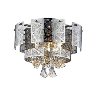 "Lumenno International 28417 Cosmo 5 Light 17"" Wide Flush Mount Ceiling Fixture"