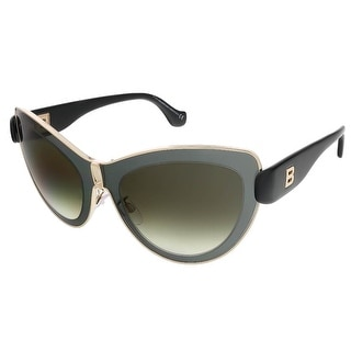 Balenciaga BA0001S 01F Grey/Gold Cat Eye sunglasses - 56-21-140