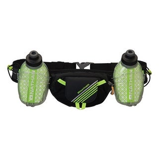 Nathan Sports Trail Mix Insulated Hydration Belt - Black - 4638NBSY