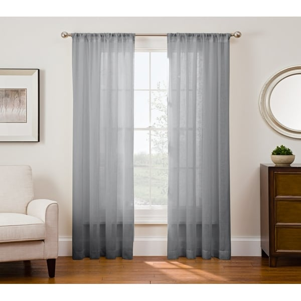 Sharper Image Sonoma Sheer Curtain Panel. Opens flyout.