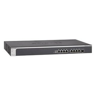 Netgear Prosafe 8-Port 10-Gigabit Ethernet Smart Managed Switch (Xs708t-100Nes)