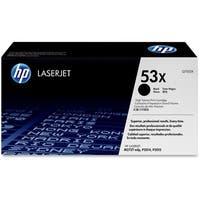 HP 53X High Yield Black Original LaserJet Toner Cartridges (Q7553X)(Single Pack)