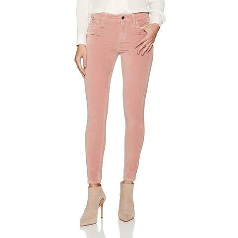 Joe's Womens Jeans Pink Size 27 Icon Velvet Skinnt Ankle Stretch