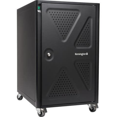 Kensington computer k64415na kensington ac12 security charging cabinet for chromebooks & tablets