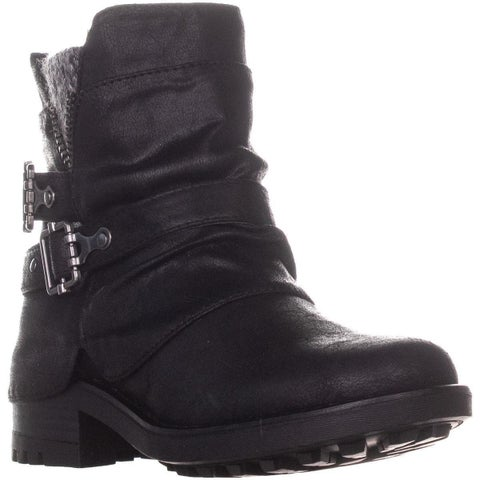 Carlos by Carlos Santana Shaw Ankle Boots, Black