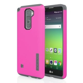 Incipio Dualpro Shockproof Hard Shell Case For LG G2 - Pink Charcoal