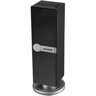 Sylvania SP269-Black Bluetooth Floor Standing Tower Speaker Manufacturer Refurbished