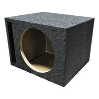 "Qpower Single 15"" MDF Woofer Box Vented"