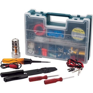 Calterm 05207 Auto Electronic Complete Repair Kit, 208-Piece & 4-Tool