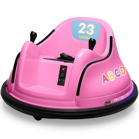 Kidzone Kids Electric Ride On Bumper Car 2 Speed, ASTM-Certified - standard