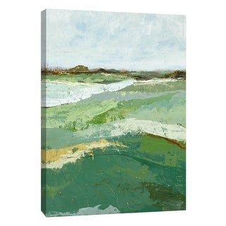 "PTM Images 9-108506  PTM Canvas Collection 10"" x 8"" - ""Open Spaces 4"" Giclee Rural Art Print on Canvas"