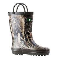 Oakiwear Kid's Realtree Max-5 Camo Loop Handle Rubber Size 5 Rain Boots
