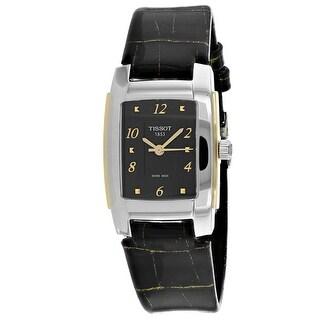 Tissot Women's Classic T0733102605700 Black Dial watch