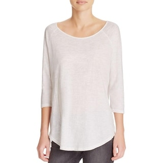 Alternative Apparel Womens Casual Top Washed Solid - s