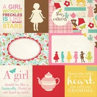 "Granddaughter Double-Sided Cardstock 12""X12""-Journaling Cards"