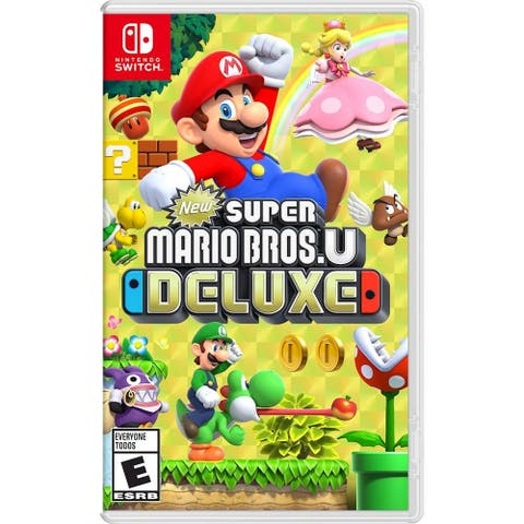 New Super Mario Bros. U Deluxe Standard Edition - Nintendo Switch - Black