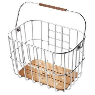 Brooks Hoxton Wire Front Bicycle Basket
