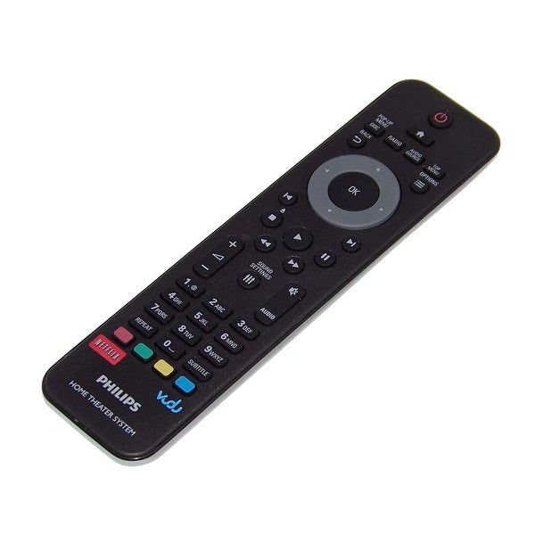 OEM Philips Remote Control Originally Shipped With: HTS3541/F7, HTS3541, HTS3564/F7, HTB3524/F7, HTS3564, HTB3524