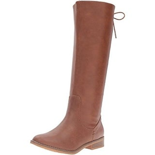 Rocket Dog Womens Moore Riding Boots Faux Leather Knee High