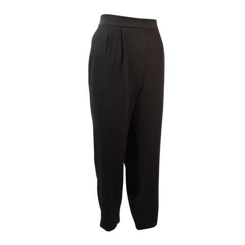 Alfani Women's Slim Leg Pleated Trousers