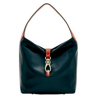 Dooney & Bourke Wexford Leather Small Logo Lock Sac (Introduced by Dooney & Bourke at $248 in Jun 2017) - Black