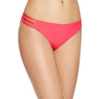 L Space Womens Strappy Bikini Swim Bottom Separates