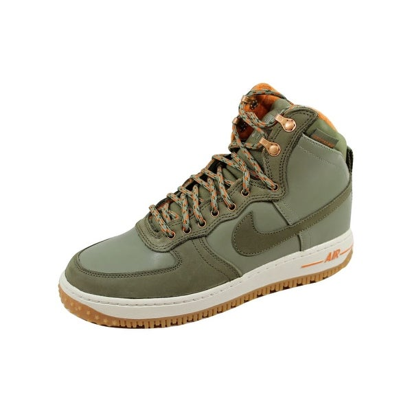 Nike Men's Air Force 1 Hi DCNS Military Boot Silver Sage/Medium Olive 537889-300 Size 7.5