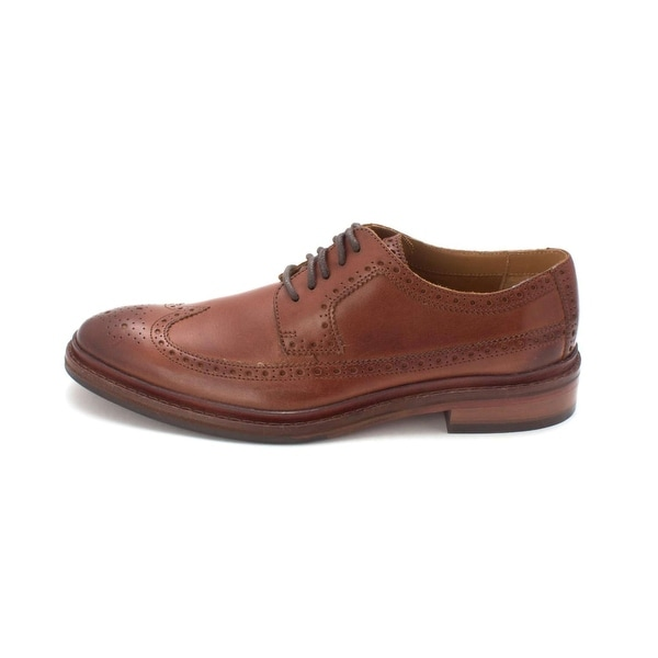 Cole Haan Mens Williams Welt Long Wing II Lace Up Dress Oxfords - 8.5
