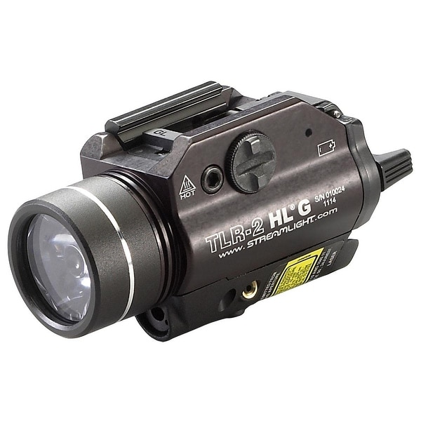 Streamlight TLR-2 HL G Rail Mounted Flashlight with Green Laser - 720 Lumens