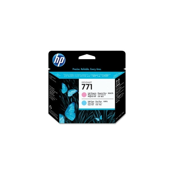 HP 771 Original Printhead Light Magenta & Cyan (CE019A)(Single Pack)