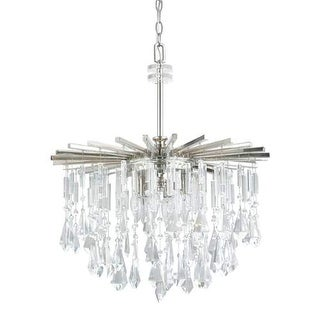 "Donny Osmond Home 7023-CR 6 Light 22.5"" Wide Chandelier from the Carrington Collection"