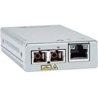 """Allied Telesis AT-MMC200/SC-90 Allied Telesis AT-MMC200/SC Transceiver/Media Converter - 1 x Network (RJ-45) - 1 x SC Ports -"