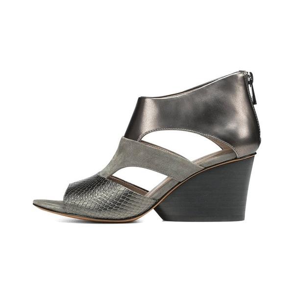 Donald J Pliner Womens Jenkin Open Toe Casual Platform Sandals