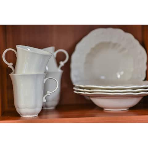 Red Vanilla Country Estate Set of 4 Mugs