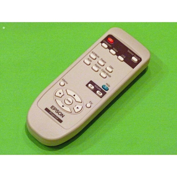 OEM Epson Remote Control Originally Shipped With: PowerLite Home Cinema 705HD