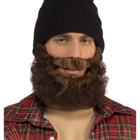 Adult Brown Lumberjack Beard Costume Accessory - Standard - One Size