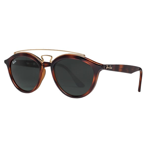b573f4dc115dbd ... discount code for ray ban rb4257 710 71 53mm gatsby ii tortoise brown  green round sunglasses