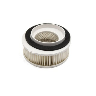 White Cylindrical Scooter Motorcycle Engine Air Intake Filter For Yamaha XVS400