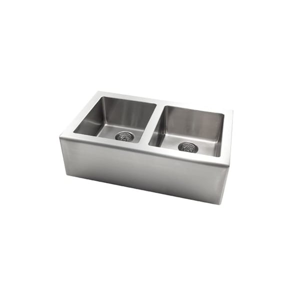 shop jacuzzi as ap20xxusum astracast apron front stainless steel rh overstock com jacuzzi farmhouse kitchen sink