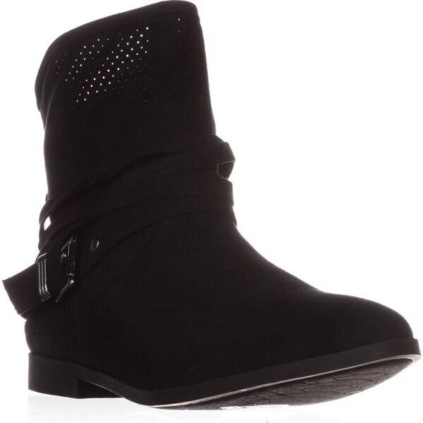 Carlos by Carlos Santana Abbry Casual Ankle Boots, Black