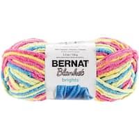 Spinrite  Bernat Blanket Brights Yarn - Sweet & Sour Variegated