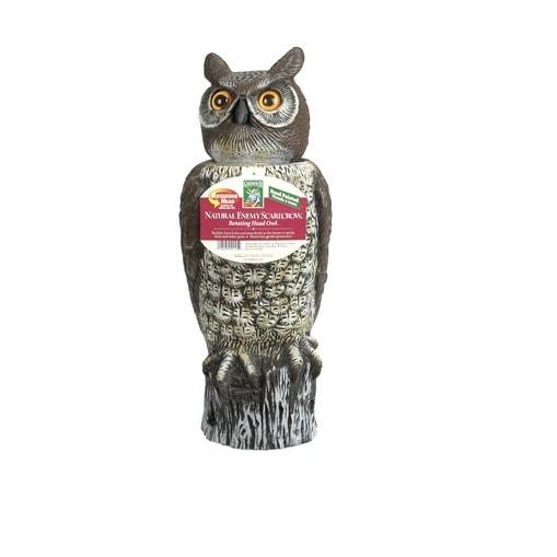 "Dalen RH0-4 Rotating Head Great Horned Owl, 18"""