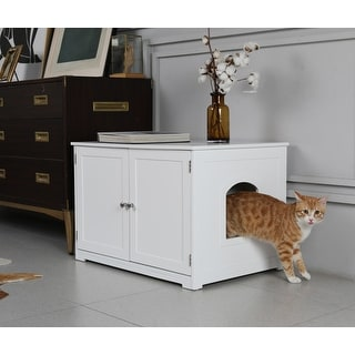 Link to Kitty Litter Loo Bench Similar Items in Cat Furniture