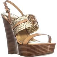 Coach Beatriz Ankle Strap Sandals, Ginger/Gold - 10 us